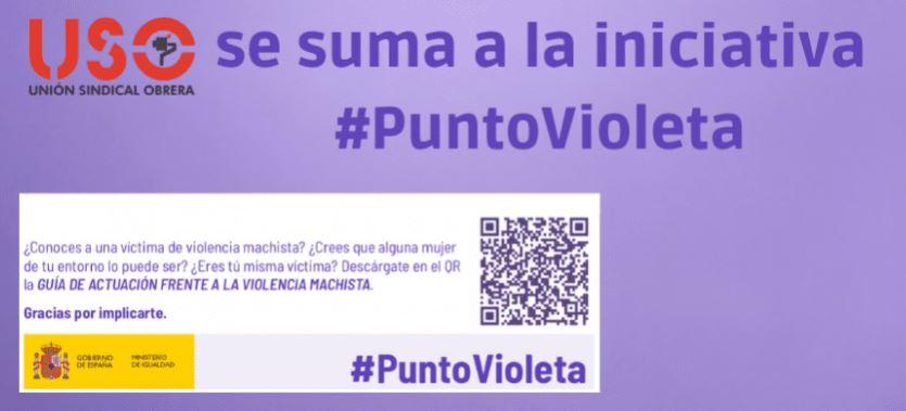 ¿Qué son los Puntos Violeta contra la violencia machista? USO Balears se suma a la campaña