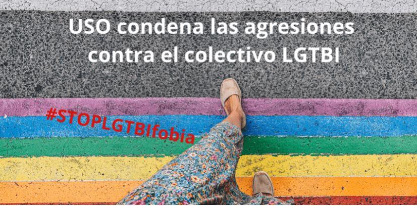 USO Illes Balears contra la barbarie y la involución: ¡STOP agresiones por LGTBIfobia!