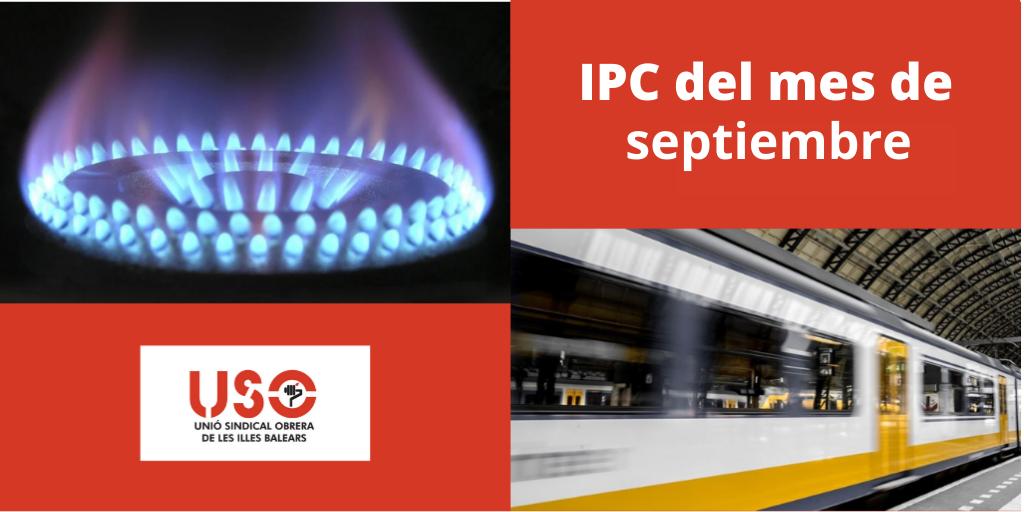 IPC de septiembre: siguen subiendo los precios de electricidad y transportes en Balears
